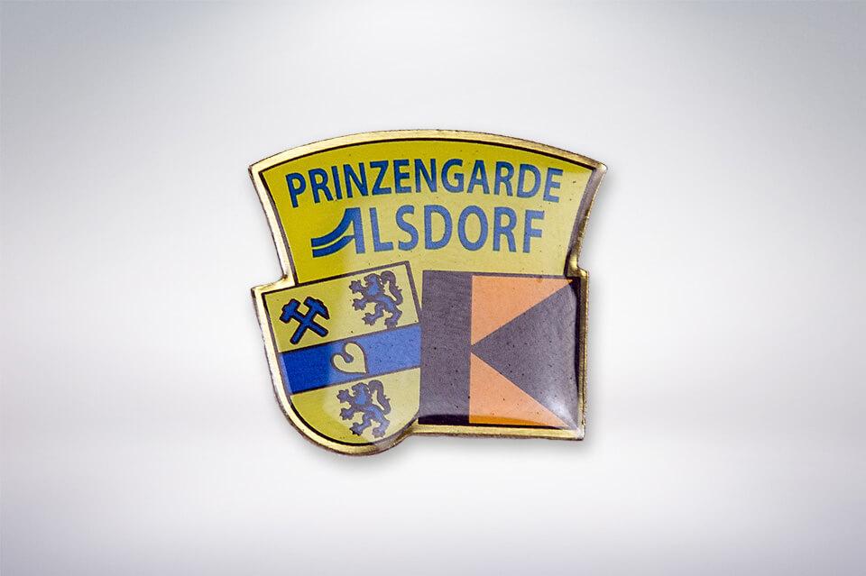 Zander Papier & Pokale Referenzen Pin Prinzengarde Alsdorf